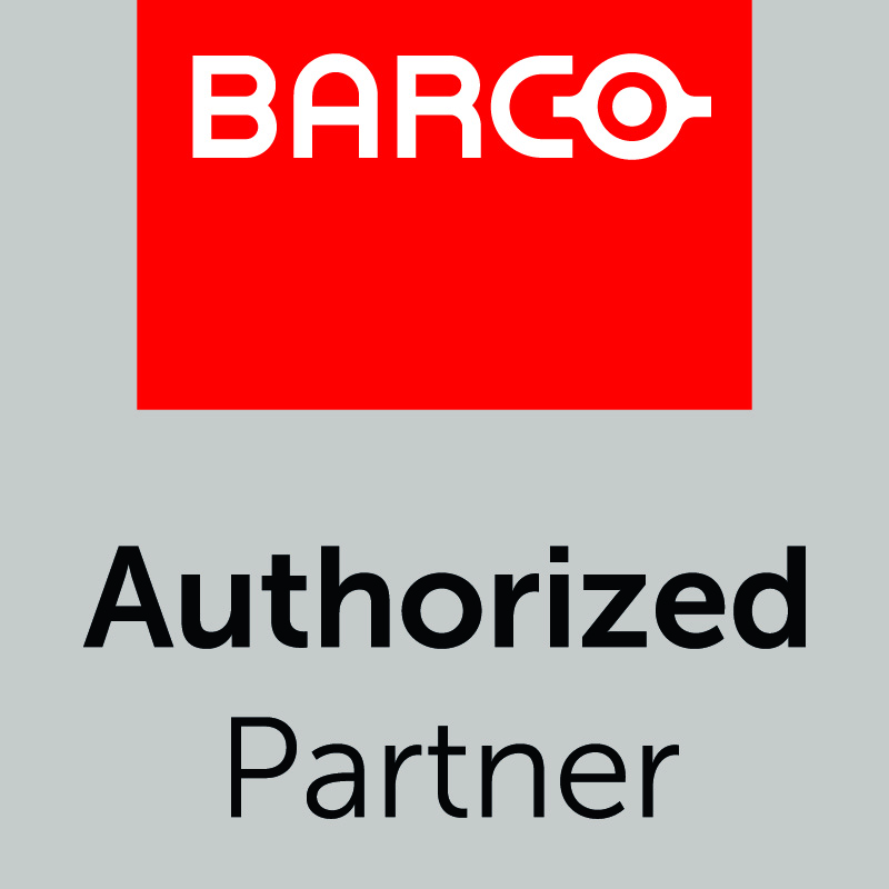 barco authorized partner label